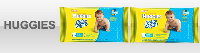 Novidades Len�o Huggies Baby Wipe. Agora tamb�m com 96 folhas!